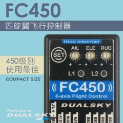 FC450- Quad copter flight control, 3 axis gypo + 3 axis accelerometer, auto level, compact size
