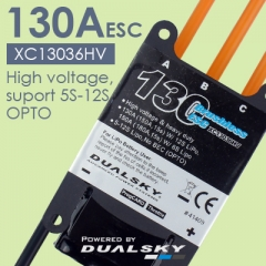 XC13036HV- High voltage, suport 5S-12S, OPTO,- 130A(150A, 15s) W/ 12S LiPo, 150A(180A, 15s) W/ 6S Lipo  - New firmware version 2.50, fully programm