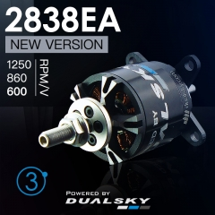 XM2838EA V3 series brushless outrunners for air