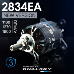 XM2834EA V3 series brushless outrunners for air