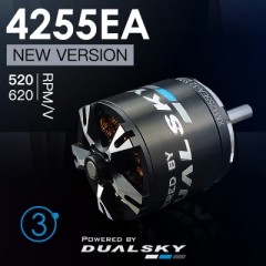 XM4255EA V3 series brushless outrunners for air
