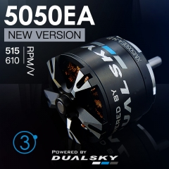 XM5050EA V3 series brushless outrunners for air