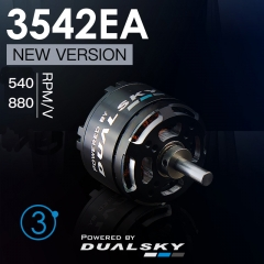 XM3542EA V3 series brushless outrunners for air