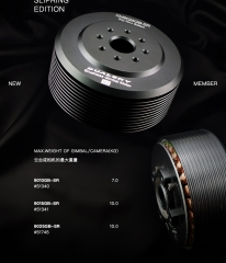 XM9025GB-SR, slip ring edition Motor (without slip ring)