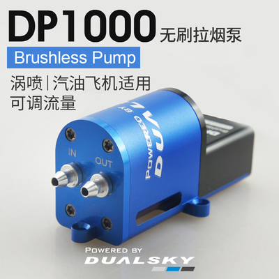 DP1000 Brushless RC smoke pump