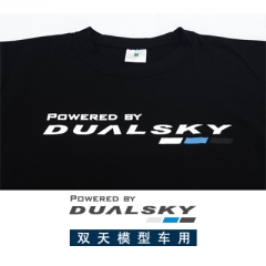 "Dualsky T-Shirt, ""Powered by DUALSKY"""