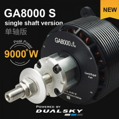GA8000.Single shaft edition, Giant Airplane Series, for E-conversion of gasoline airplane