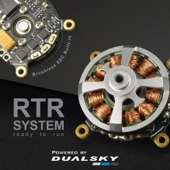 2202RTR, 2203RTR. Xmotor Typhoon series brushless outrunners for indoor model,Contra-rotating Edition